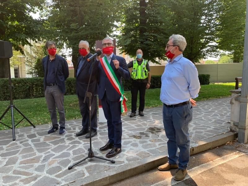 L'intervista al Sindaco di Mantova all'inaugurazione del Parking Pradella