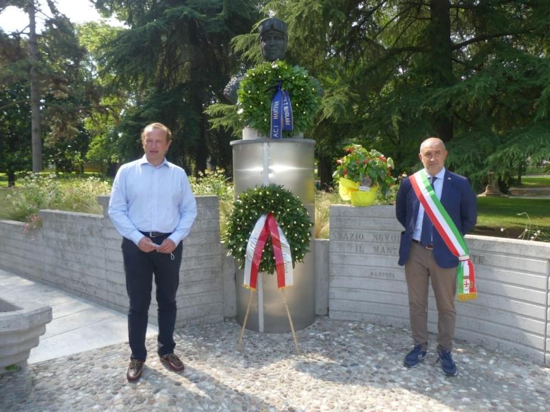 La città di Mantova ha ricordato il campione Tazio Nuvolari