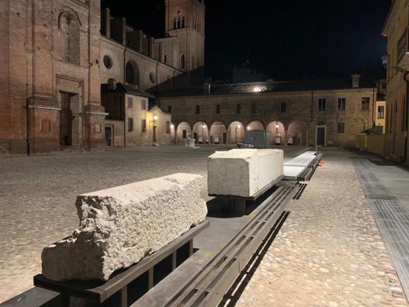 Inaugurata la nuova Piazza Leon Battista Alberti