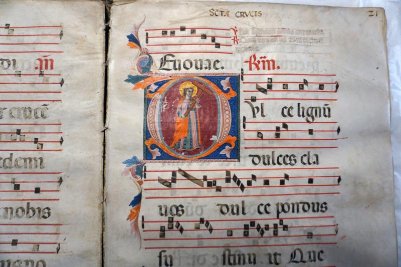 Cinque preziosi libri corali miniati saranno presto restituiti alla Diocesi
