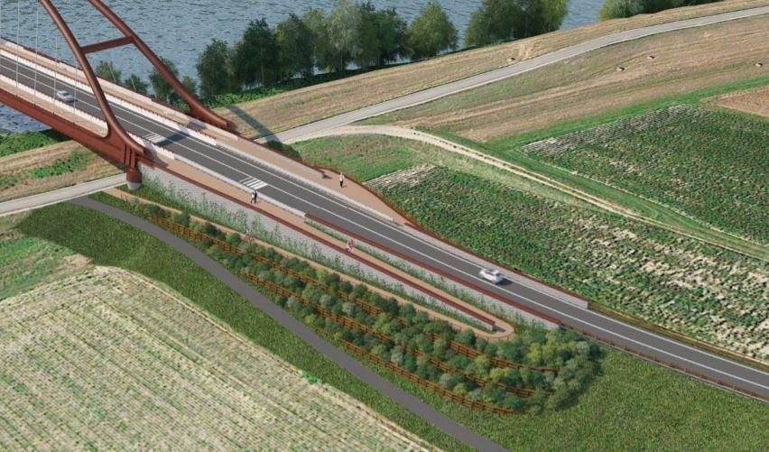Il nuovo ponte sul Po sarà pronto entro il 2022