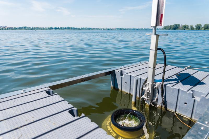 Inaugurato il Seabin, il cestino cattura-rifiuti posizionato sul Lago Superiore