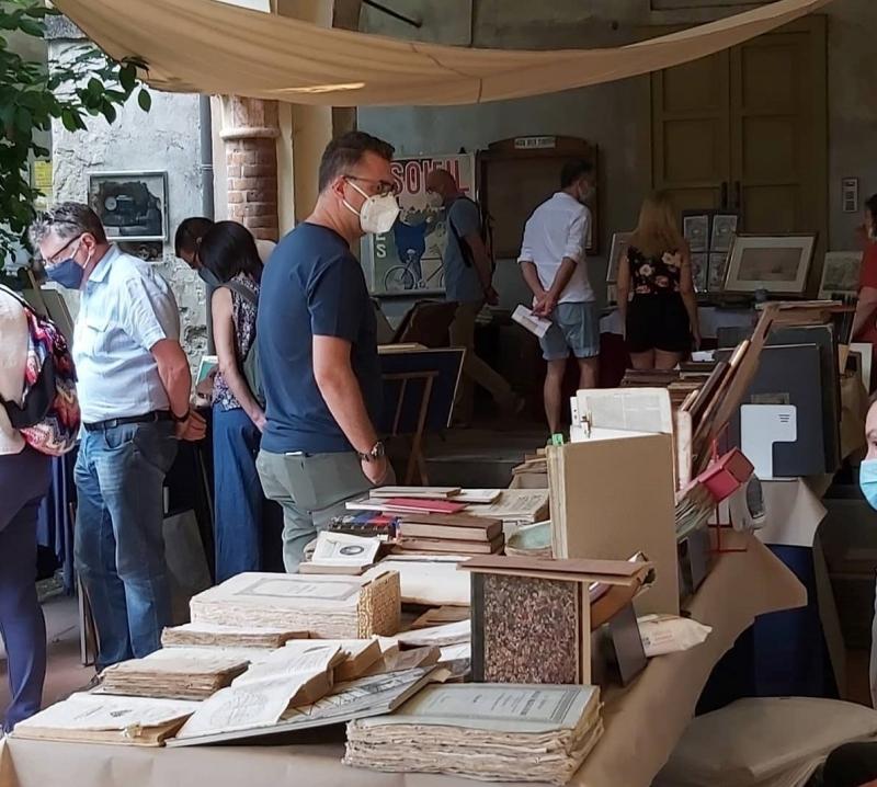 Mantova libri, stampe, mappe, fiera dell'antiquariato librario e collezionismo cartaceo