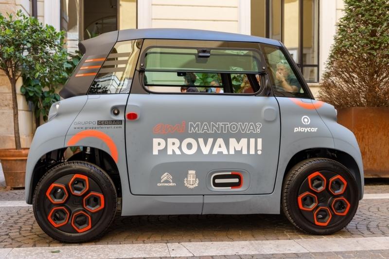 Il carsharing elettrico nasce dal Gruppo Ferrari e trova l'ok dell'Amministrazione Comunale