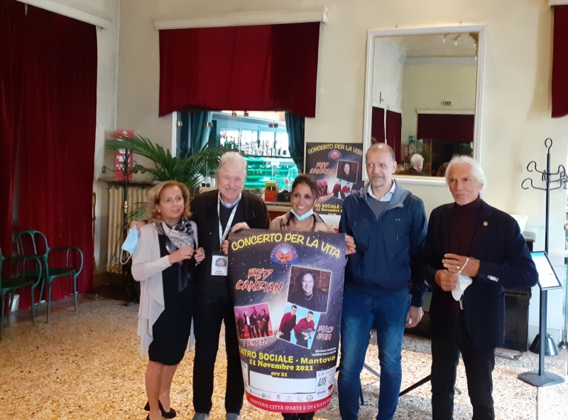 Il Concerto per la Vita compie 10 anni e Gianni Dall'Aglio ospita l'amico Red Canzian